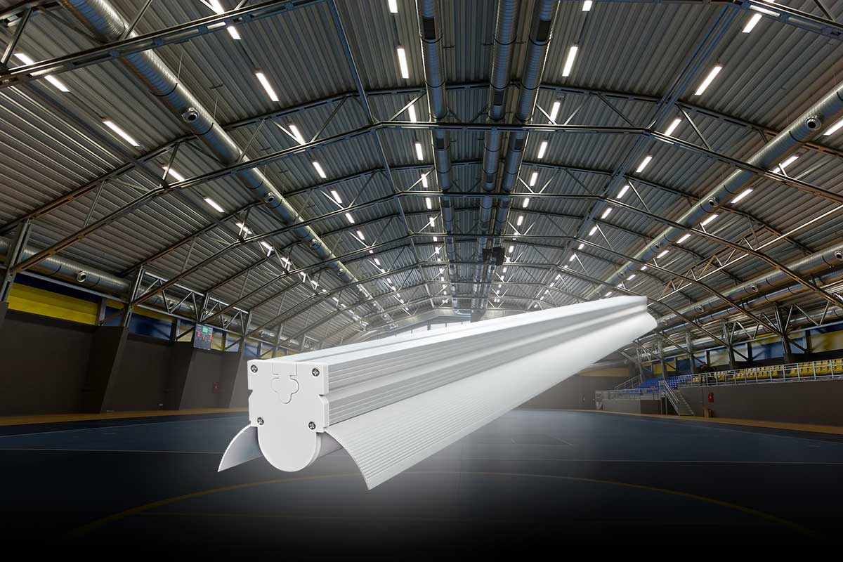 projekt oświetlenia LED