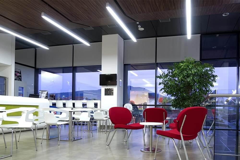 Oprawy LED liniowe