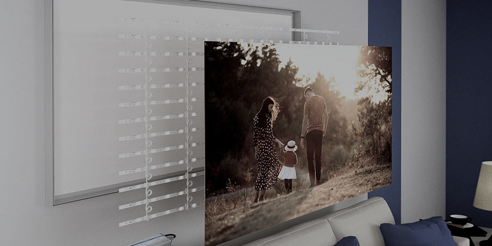myFrame – system indywidualnej grafiki oświetleniowej