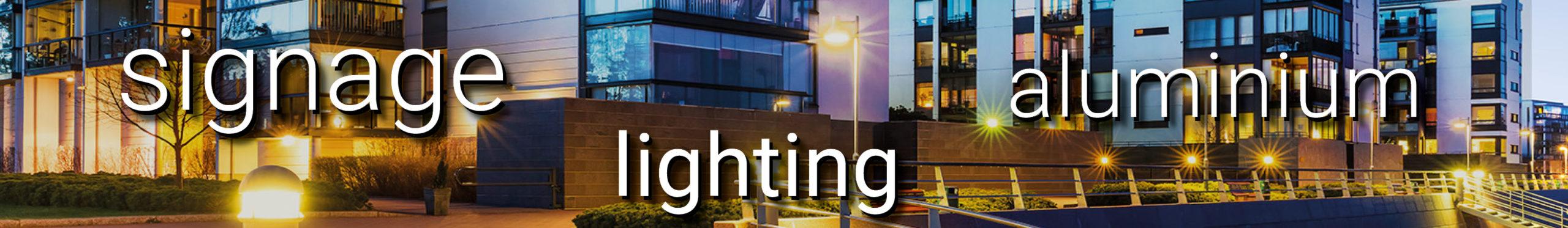 Bergmen - Signage Lighting Aluminium